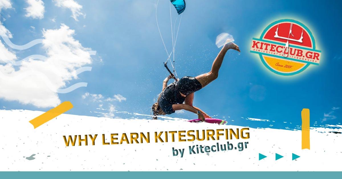 Why learn Kitesurfing