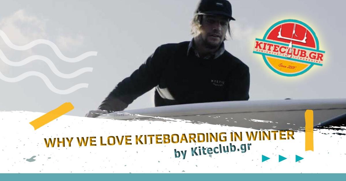 Why We Love Kiteboarding in Winter!